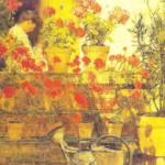 After breakfast, 1883 Childe Hassam (1859-1935)