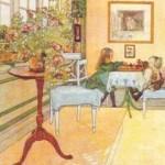 Het schaakspel, 1902 Carl Larsson (1853-1919)